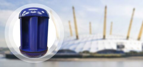 The first O2 Arena turbine is revealed