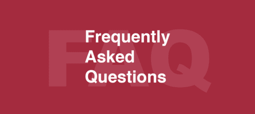 Frequently asked questions… answered!